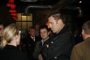 Networking at the Town Wall 22 November 2012